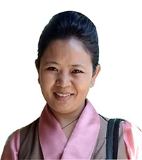 Tenzin Palkyi Under Secretary